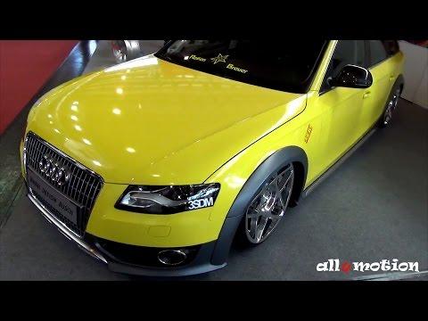 Audi A4 Allroad quattro 3SDM Wheels - low, slammed, stanced - by Wheel Design Busch