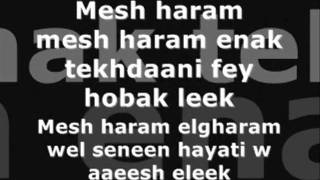 Enta Eih Nancy Ajram Whit Lyrics.wmv