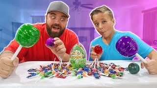 Giant Fun Sour Warheads Candy Suckers Adventure!!