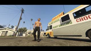 GTA 5 Tyga Ice Cream Man Music video