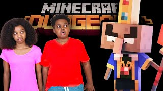 Minecraft Dungeons Birthday Party In Real Life! - Shiloh and Shasha - Onyx Kids