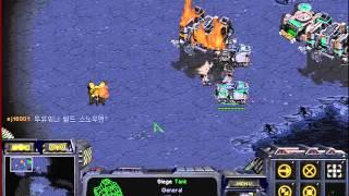 스타크래프트 유즈맵 7인 입구막기 클리어 영상 와..이게 가능하구나 (starcraft Use Map Setting 7 People Entrance Defense)