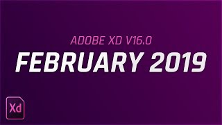 Adobe XD Update February 2019 - Record Narration, Shortcut for Eye dropper  & More