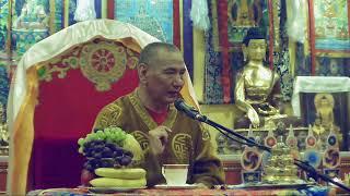 Трансляция лекции Досточтимого Геше Джампа Тинлея (Москва, 15 апреля 2019)