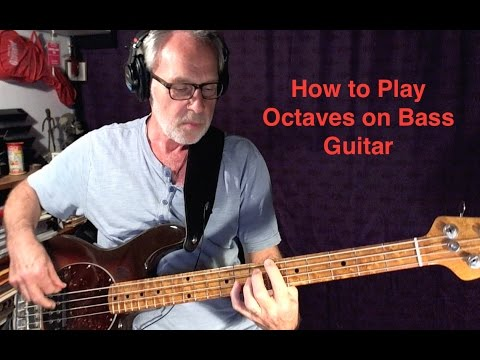 Techniques and Tips for Playing Octaves on Bass Guitar
