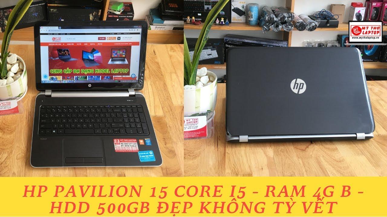 Đánh giá HP Pavilion 15 - Core i5 4200U - Ram 4GB - HDD 500GB - 15.6 inch