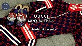 Gucci Mini Haul Mens 2018 Edition: Unboxing 1 Outfit / 3 Items