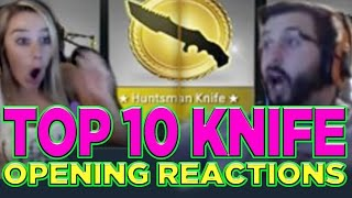 Top 10 CS: GO Knife Opening Reactions