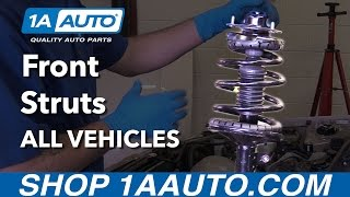 How to Install or Replace Front Struts on Any Vehicle! (Full Guide!)