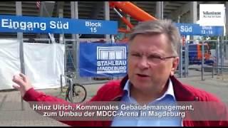 Die MDCC-Arena wird hüpfsicher