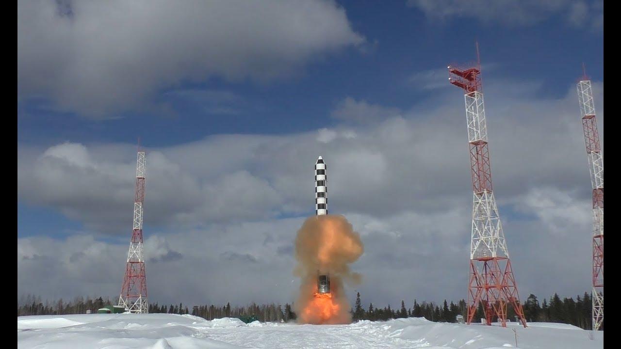 Испытания межконтинентальной баллистической ракеты тяжёлого класса «Сармат»