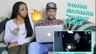 """Couple Reacts : """"PANDA"""" Cover By Conor Maynard Reaction!!!"""