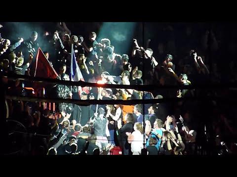 """Rammstein - """"Intro"""" &"""" Sonne"""" Bercy Paris 6/3-2012 HD"""