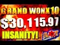 Download Video ★GRAND JACKPOT X10 ★ BIGGEST JACKPOT ON YOUTUBE OVER $30,000 WON LIVE!