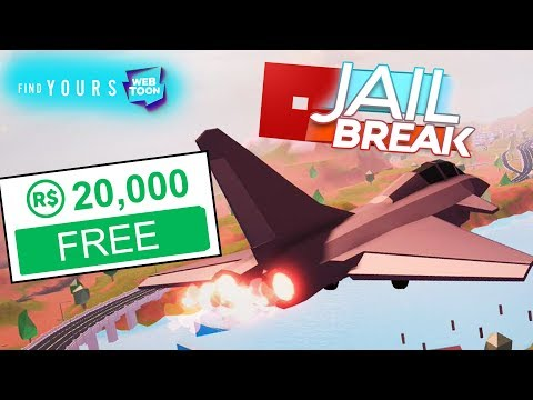 , title : '20,000 FREE ROBUX + ROBLOX JAILBREAK Planes Update!!'