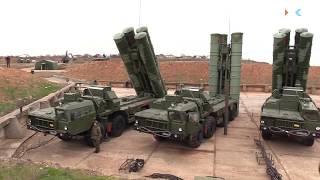 В Севастополе заступил на боевое дежурство зенитный ракетный комплекс С-400 «Триумф»