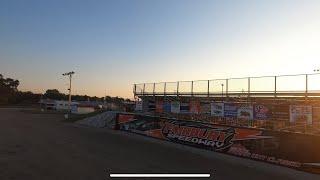 Fairbury Speedway Dirt Racing Track - FPV Drone