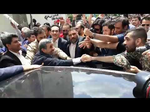 Ahmedinejad Dünya Kudüs Günü Yürüyüşünde