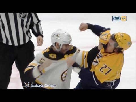 Adam McQuaid vs Derek Grant
