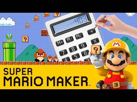 Someone made a calculator in Mario Maker It is mind boggling