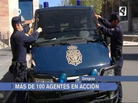 UIP Cuerpo Nacional de Policia Zaragoza 1ª Parte
