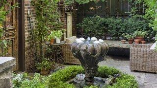 Tour A Stunning Secret Garden In The City!