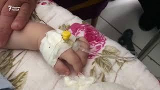 Шок! Таджикские врачи извлекли из 9-месячного ребенка 6 игл