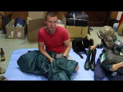 Спальный мешок-одеяло Greenell «Следи». Видеообзор.