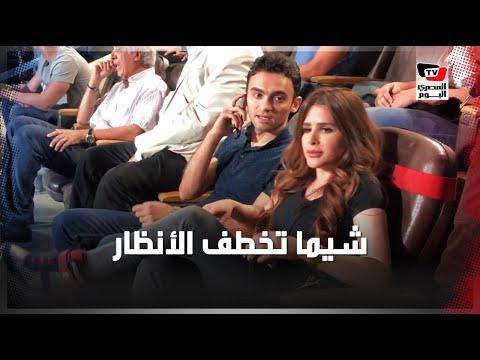 شيما صابر تخطف الأنظار في مباراة الأهلي وإنبي بـ«بتروسبورت»