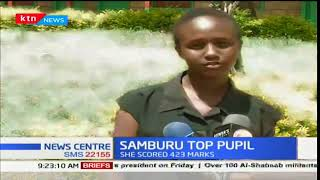 Samburu's top pupil in the KCPE 2017 examination dreams of becoming a veterinary doctor