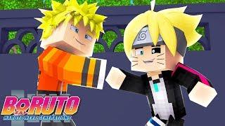 Minecraft - NARUTO E BORUTO JUNTOS NOVAMENTE! - ANIME BORUTO EP.4