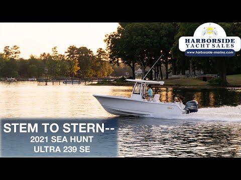 Sea Hunt Ultra 239 SE video