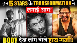 From SRK To Hrithik Roshan, 5 Actors Who Shock Everyone With Their Body Transformation
