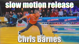 Chris Barnes slow motion release - PBA Bowling