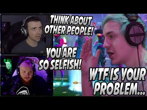, title : 'Ninja Gets UPSET & ENDS His Stream After DrLupo & Tim TEAM UP On Him! (Refuses To Play Anymore)'