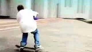 Скейт, fakie ollie
