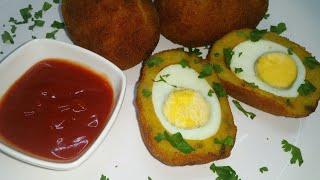 Jinsi ya kutengeneza katlesi za mayai/ egg chop – Mapishi rahisi