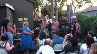 Smiths White trash wedding