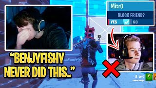 Mongraal DISAPPOINTED & BLOCKS Mitr0 After Finding This Out on Stream! (Fortnite)