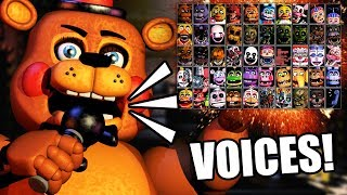 """ALL CHARACTERS ARE GETTING VOICES?! 