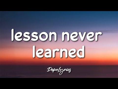 dAnklin - lesson never learned (Lyrics) 🎵