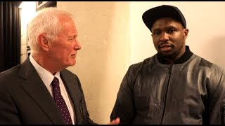 'I WILL NOT BE OVER-LOOKED OR UNDERPAID - OR GET THE WRONG TERMS' - DILLIAN WHYTE TELLS BARRY HEARN