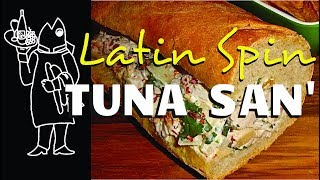 Yellowfin Spicy Tuna Salad Sandwich
