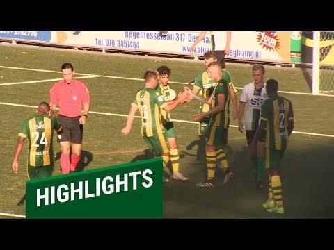 Samenvatting SVV Scheveningen - ADO Den Haag 0-2 (01-07-2019)