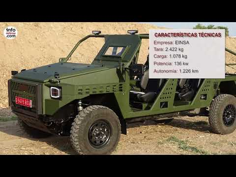 Este es el vehículo ligero Neton de EINSA que operará el MOE del Ejército de Tierra español