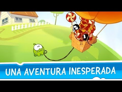 Las Historias de Om Nom - Una aventura inesperada - Cut The Rope Time Travel