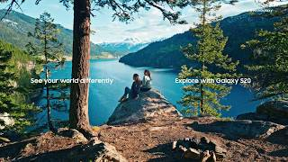 Samsung Galaxy S20 : See your world differently Advert