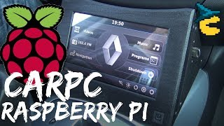 Raspberry Pi carpc [MAKER'S REPORT]