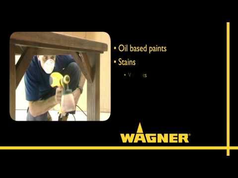 Wagner FineSprayers Range - W550, W610 & W670 Video