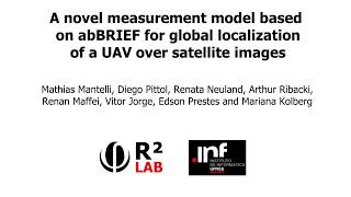 A novel measurement model based on abBRIEF for global localization of a UAV over satellite images